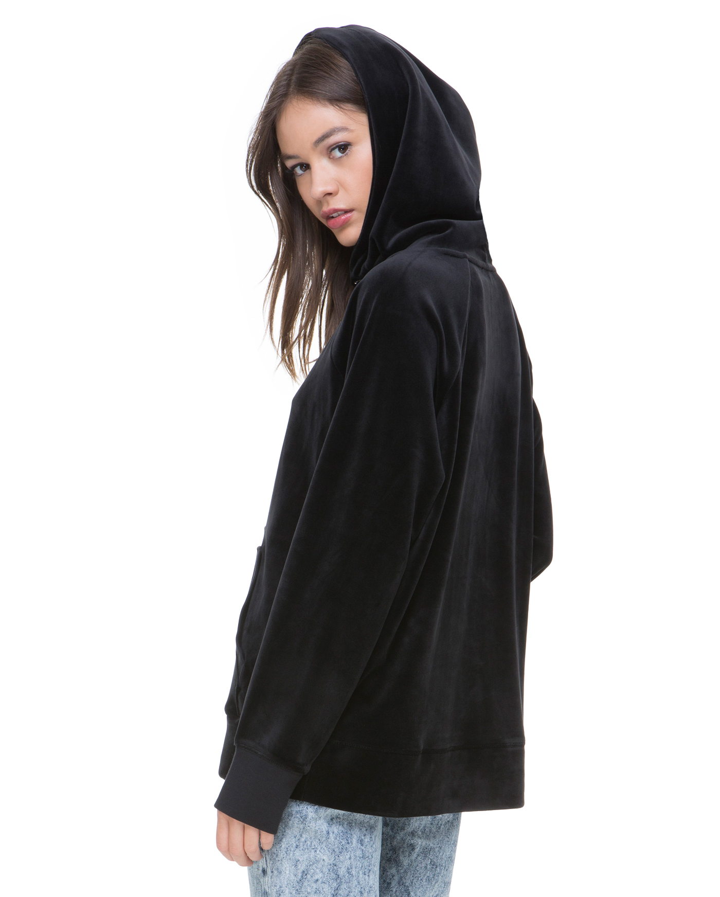 Толстовка Luxe Velour Hooded Pullover