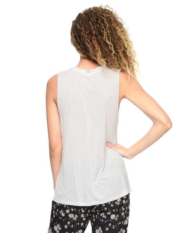 Футболка Knit Collegiate Distressed Tank