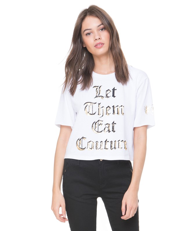 Футболка Let Them Eat Couture Graphic Tee
