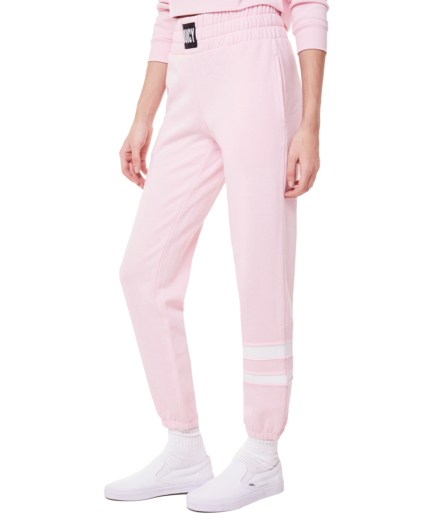 Брюки Fleece Stripe Leg Logo Wb Pant