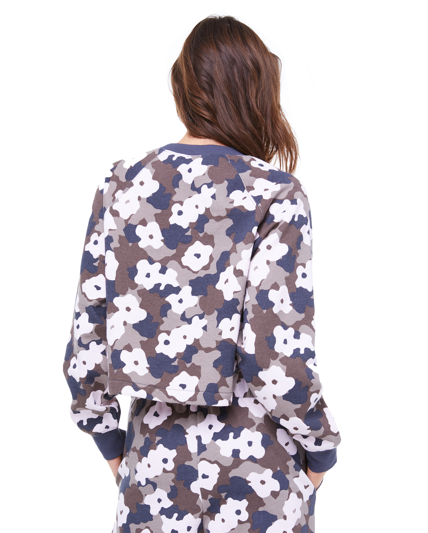 Толстовка Fleece Floral Camouflage Pullover