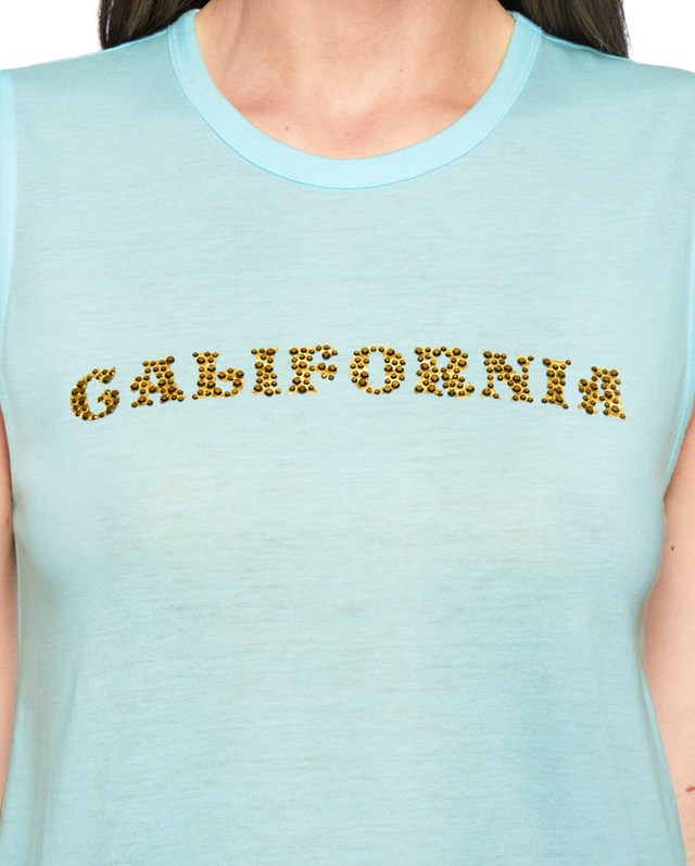 Футболка Embellished California