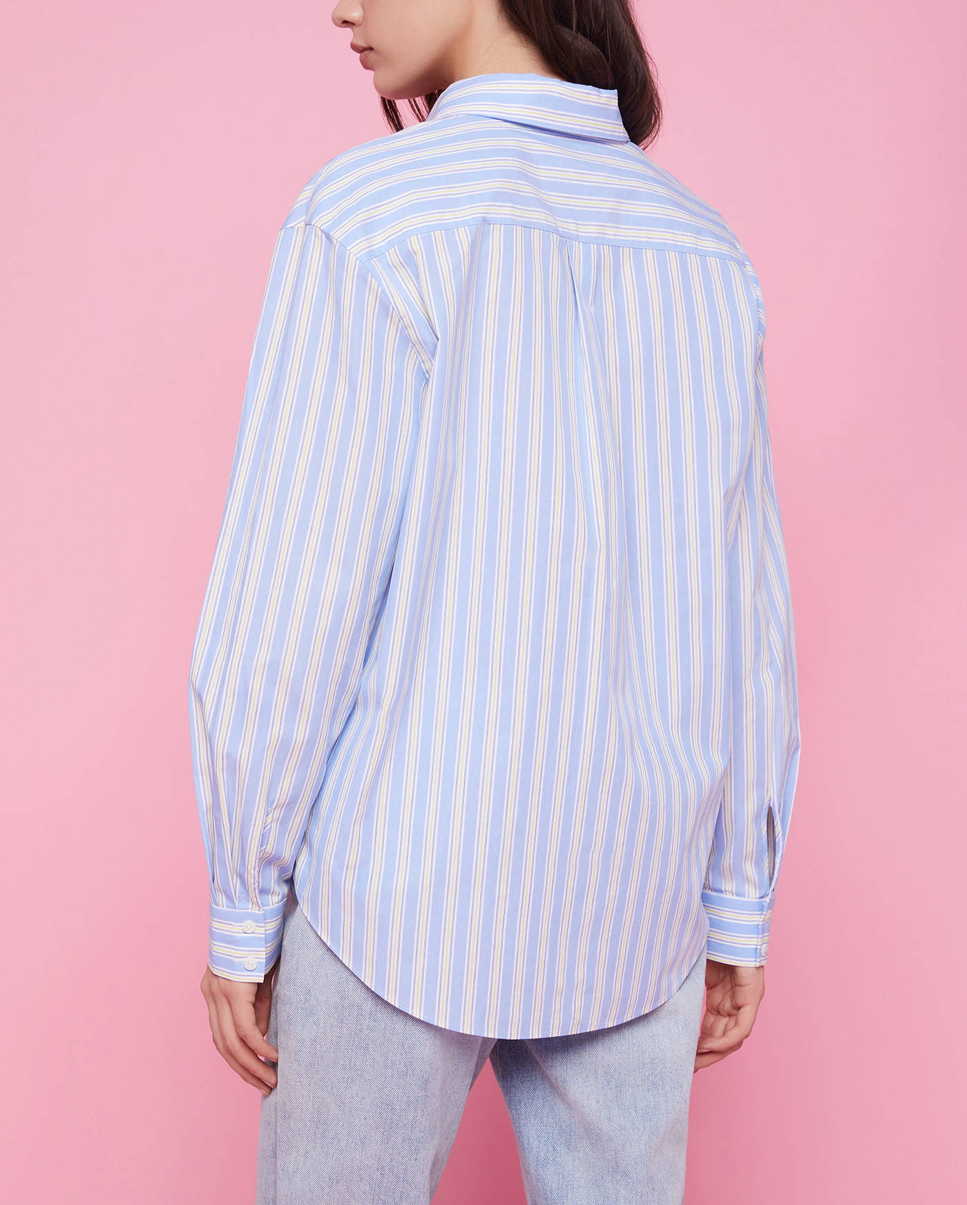 Блузка Stripe Cotton