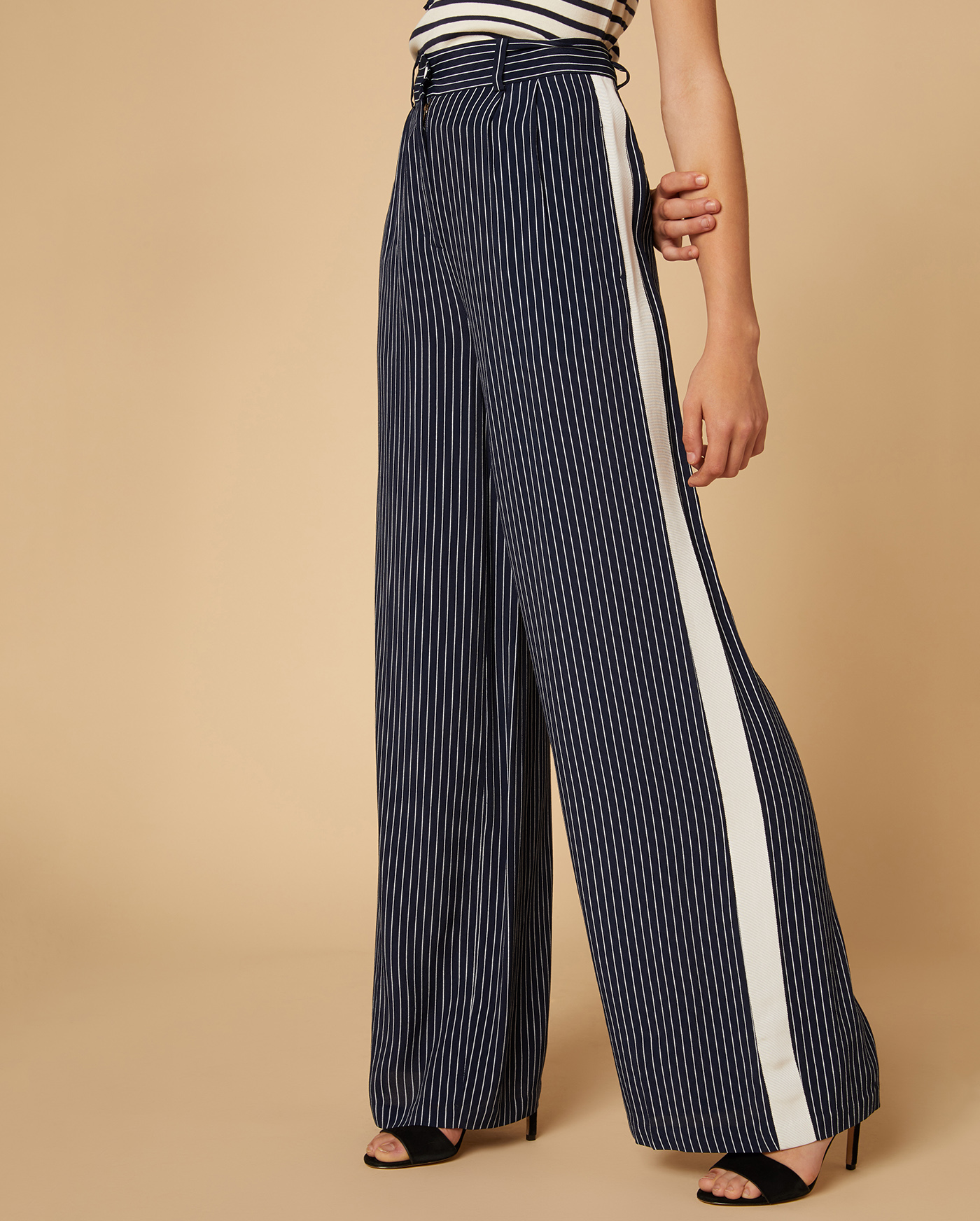 Брюки Striped Wide Leg
