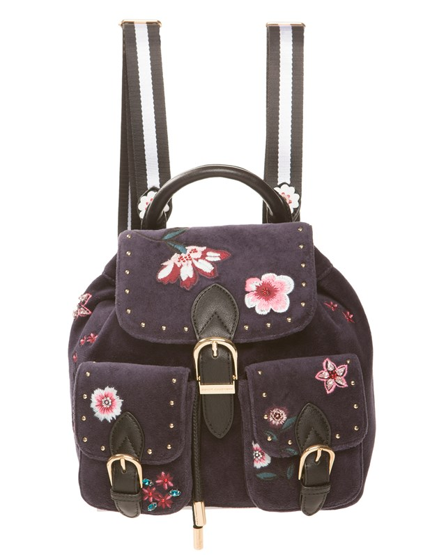 Рюкзак Velour Fairmont Fairytale Floral Mini Buckle