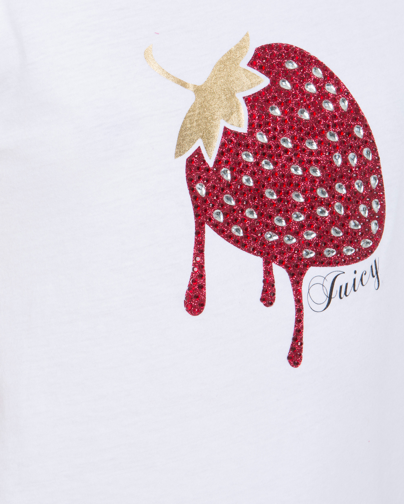 Футболка Dripping Strawberry Graphic Tee