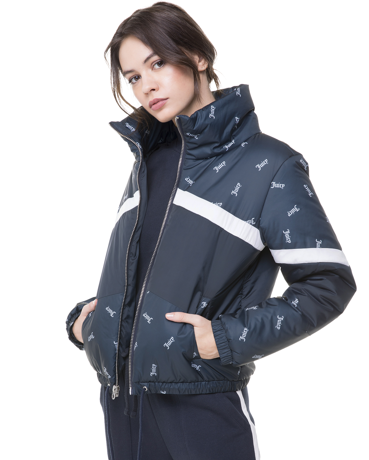 Куртка Colorblocked Puffer Jacket