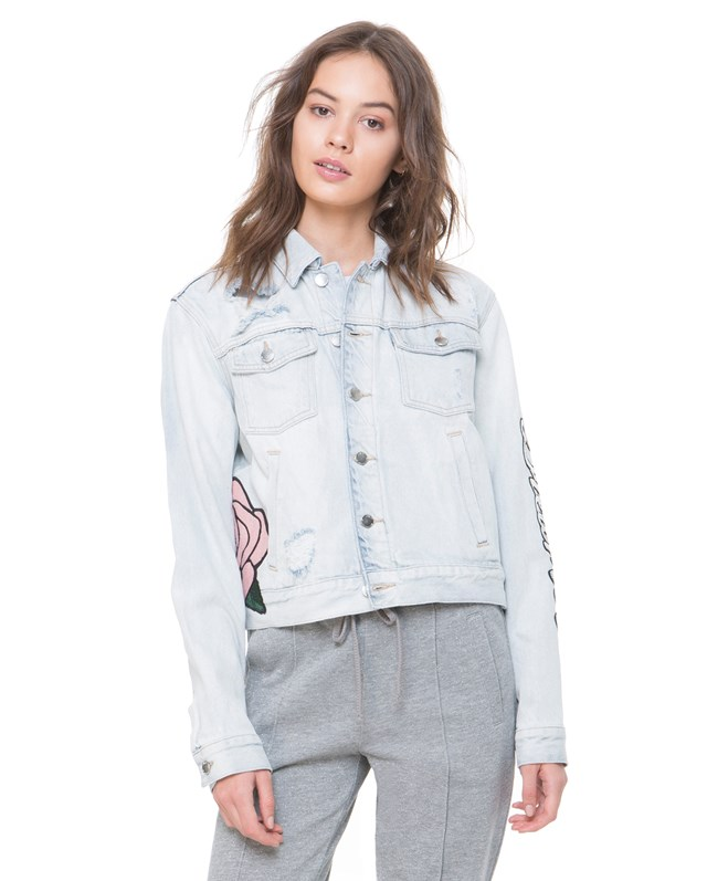 Жакет Sequin Dreamer Patch Denim